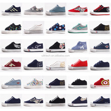 wholesale children shoes 35-40 kids canvas shoe on big promotion 3 usd per one kids casual shoes kids