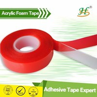 Auto Double Sided Foam Tape For Car Decorations With ISO9001, TS16949 Certificates