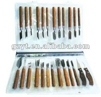 25 piece Diversification fruit and vegetable food carving knife set