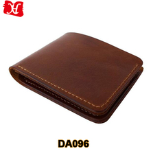 custom genuine leather smart wallet for men