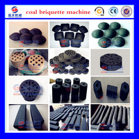 30 years experience 3 kinds coal powder briquettes making machine