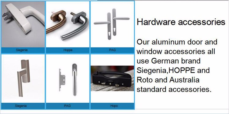 High quality Australia standard low-e glass chain winder aluminum window supplier