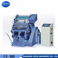 Die Cutting and Hot Stamping Machine for Paper / Cardboard / Plastic