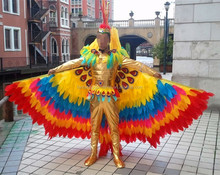Rio. samba carnival costumes/custom made phoenix dancing dress/stage costumes for party shows uniform 110003