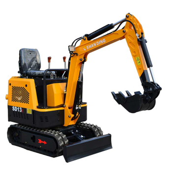 Hot sale mini excavators for greenhouse work with yan-mar engine