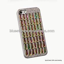 Hot Selling !!! Luxury Diamond Rhinestone Bling Cell Phone Case Cover For Iphone 5 mobile phone case for iphone