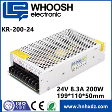1 Years Warranty CE&RoHS Certification AC to DC IP67 24V 200W Led Waterproof Switch Power Supply