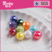 Nice beads factory wholesale 12mm crystal faceted beads for jewelry making