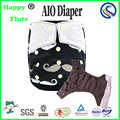 Happy flute AIO washable diaper night sleepy absorbent diapers reusable nappies manufacture