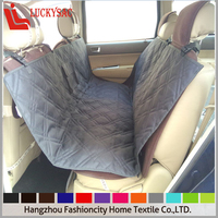 Pet Car Seat Cover Quilted Washable Waterproof 600D Oxford Fabric OEM Factory Supplier