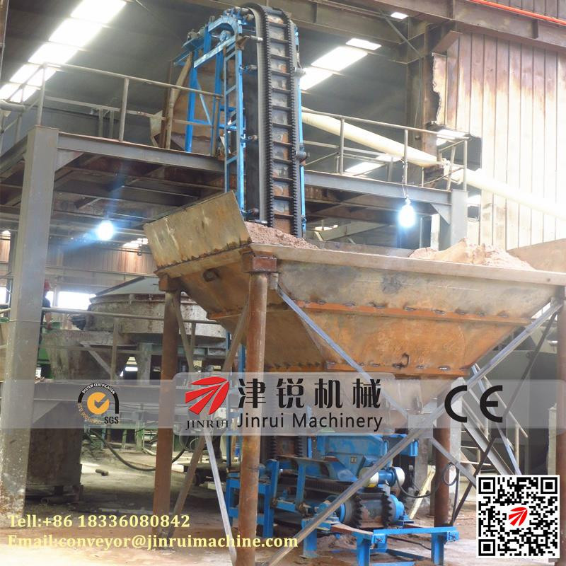 bulk material vertical crushed stone coal sidewall