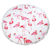 Fashion Flamingo Microfiber Beach Towel Plain