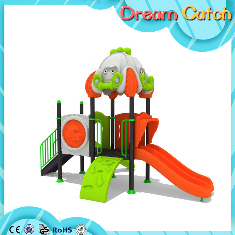 Small size residential plastic outdoor Industrial playground equipment components for sale