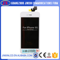 Mobile phone replacement for iphone 5 lcd touch screen with digitizer assembly
