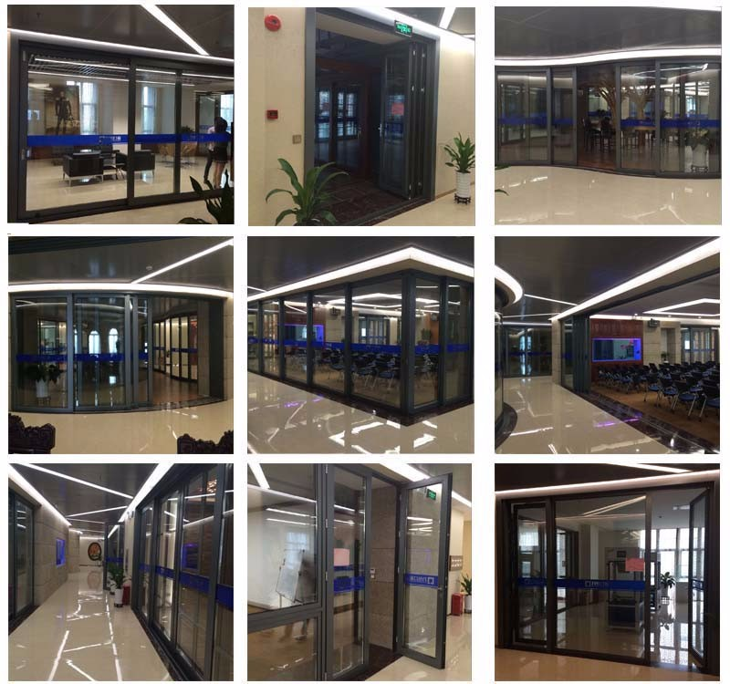Hongtai manufacturer AS2047 Australia standard 102 series double 6mm tempered glass aluminum window