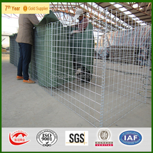 Afghanistan used galvanized hesco/ military sand hesco wall/ hesco barrier for sale