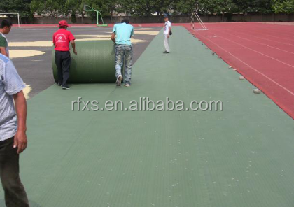 Shockpad for artificial turf field for football,rugby,hockey,golf putting green