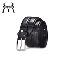 Black elastic patent womens womens leather belts