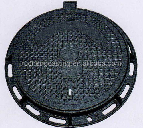 En ductile casting iron construction used manhole cover