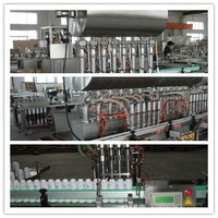 Factory price Automatic glass bottle viscostiy rose jam filling machine with CE,ISO