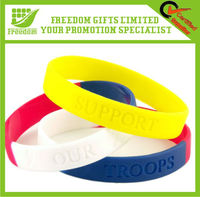 Popular Design Engraved Silicone Wristband