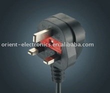 Britain power plug with Fused