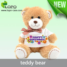 2016 new sublimation teddy bear toy