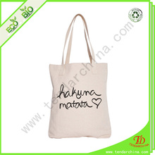 Natural Canvas Cotton Bag Shopping Tote Bag
