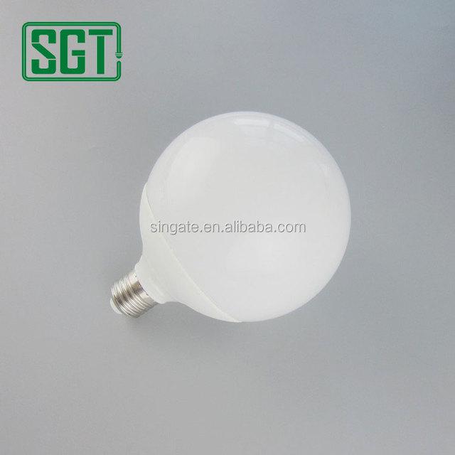 High quality g95 E27/E26/B22 12w 2700-6500k SMD2835 IC driver led ball light bulb