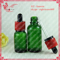 30ml e-liquids/e-tobacco oil/e-juice bottle e liquid oil dropper glass bottle child tamper ring cap pipette