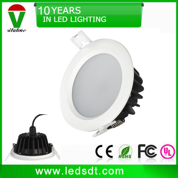 3w 5w 7w 9w 12w 15w 18w 20w IP44 IP65 waterproof led downlight for kitchen bathroom hallway
