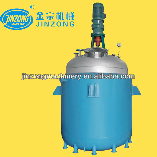 Stainless steel chemical reactor, electrical heating reactor