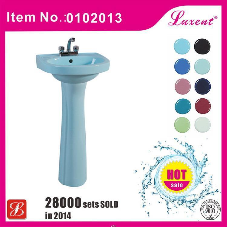 Fashionable style antique pedestal basin for kids