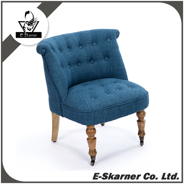 E-Skarner latest blue sofa design with high quality fabric