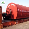 waste tire pyrolysis machine Manufacturer owning 2000 m2 demo plant