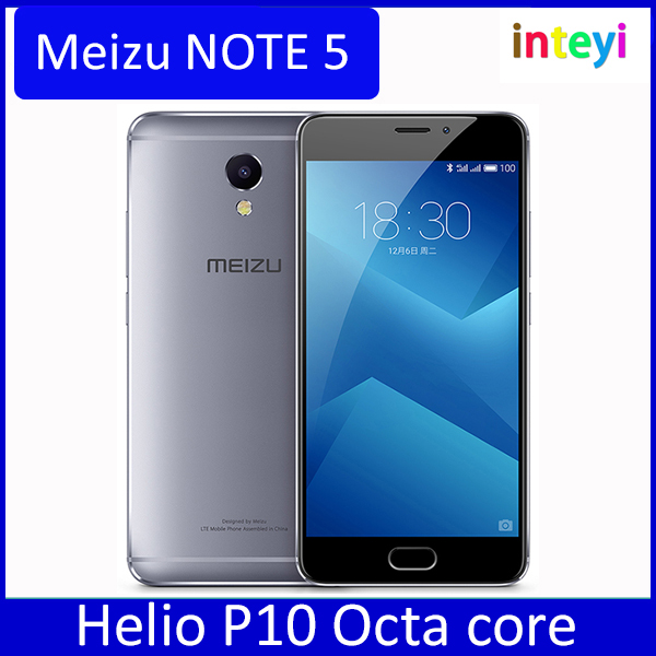 Original Meizu M5 NOTE 5 32GB 5.5 inch 1080P Helio P10 Octa core 3GB RAM GPU 13MP camera 4000mAh mTouch mobile phone Meizu note5