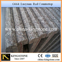 G664 Pink Granite Laminate Kitchen Countertop