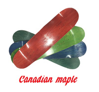 Canadian maple unfinished blank longboard skateboard decks wholesale