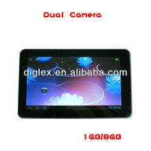 "10.1"" capacitive Android 4.0 O.S Tablet pc with 1gb DDR & 8gb HDD,skype tablet pc download"