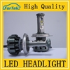 Super bright Fast start! phil*ips led healdight H7 25w 3000LM motorcycle led bulb headlight