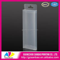 Hot sales eco-friendly PP box hair packaging plastic box for wigs