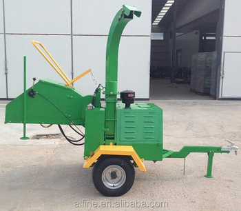 CE certificated reliable quality honda wood chipper