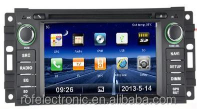 Car dvd GPS for JEEP COMPASS/JEEP COMMANDER/JEEP GRAND CHEORKEE(2008-2010)