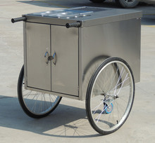 Hand-Push mobile fast food cart, street fast food truck BN-11