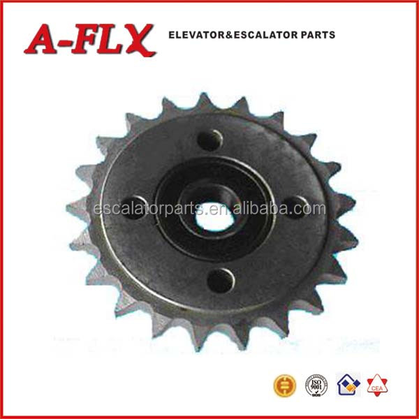 21T Escalator Drive Shaft ,chain sprockets suitable for LG escalator spare parts
