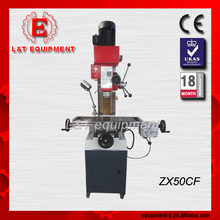 ZX50CF Mini 3 In 1 Lathe Drilling and Milling Machine Machinery