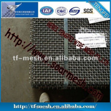Stainelss steel crimped wire mesh ( WITH FACTORY PRICES ISO 9001)