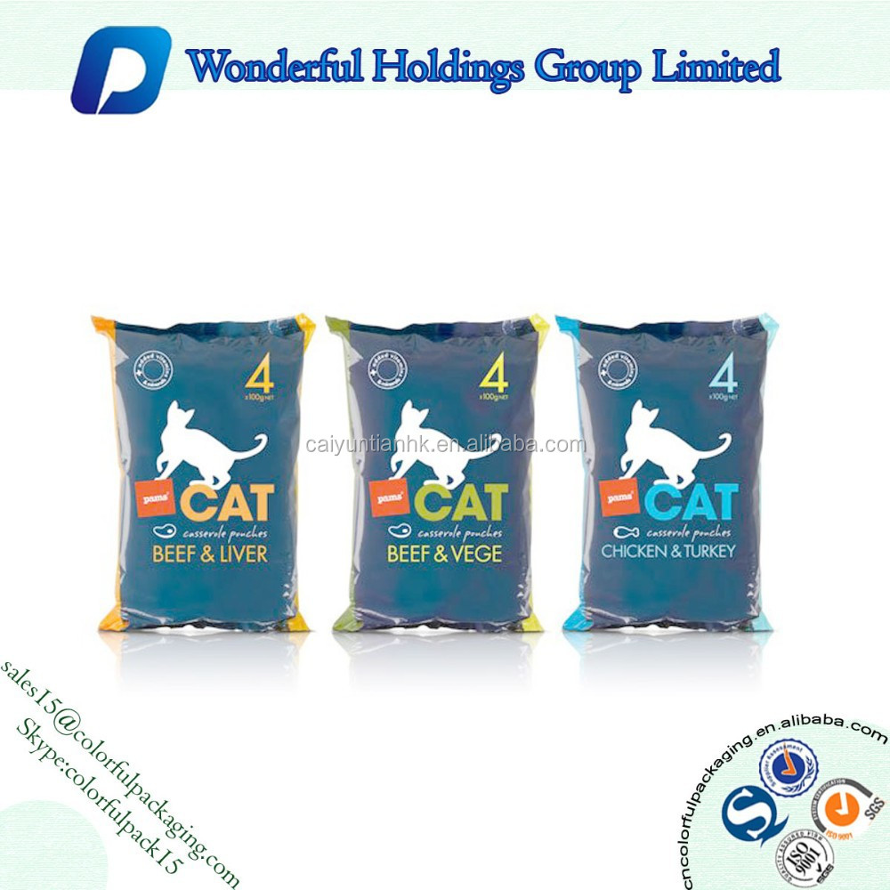 High Quality Heat Seal Small Packaging Bag Dog Food Travel Bags