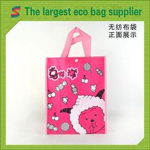 Fashion Non Woven Gift Bag Silver Coated Pp Non Woven Grocery Bag