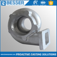 TS16949 Certificates Carbon Alloy Steel 304/316 Stainless Steel Casting Parts Lost Wax Precision Investment Casting Manufacturer